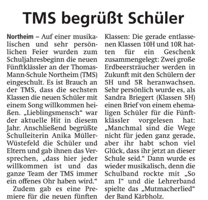 Artikel aus Hallo Northeim
